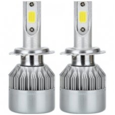 H11 CAN-BUS Bridgelux LED sistema 12-24V, 36W, 4000LM į priekinius žibintus