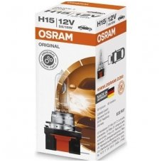 H15 1vnt. OSRAM ORIGINAL LINE 12V 15/55W, 64176, 4008321218391, PGJ23t-1 halogeninė lemputė
