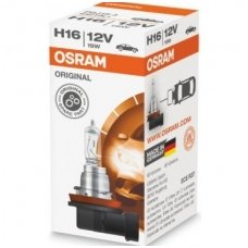 H16 1vnt. OSRAM ORIGINAL LINE 12V 19W , 64219L+, 4008321626783, PGJ19-3 halogeninė lemputė