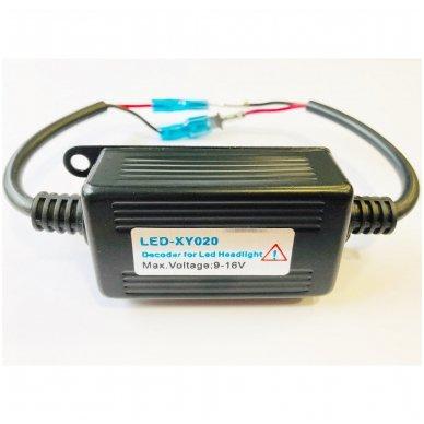 H1 / H3 CAN-BUS lemputėms skaitmeninis klaidų naikintojas 55w 3