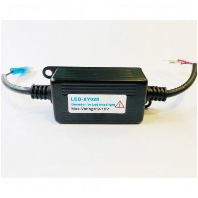 H1 / H3 CAN-BUS lemputėms skaitmeninis klaidų naikintojas 55w 6