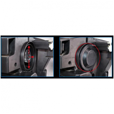 """H1 MINI CAN-BUS """"Philips ZES"""" +300% LED sistema 12V-24V 6500LM 11"""