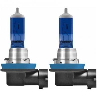 H11 OSRAM COOL BLUE BOOST, 75W5000K, +50% šviesos, 62211CBB-HCB, 4052899439849 2