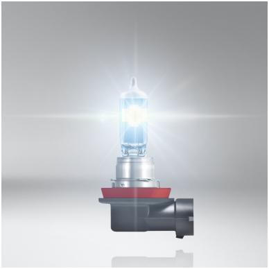 H11 OSRAM NIGHT BREAKER LASER +150% šviesos, +150m švietimo, +20% baltumo halogeninė lemputė 5