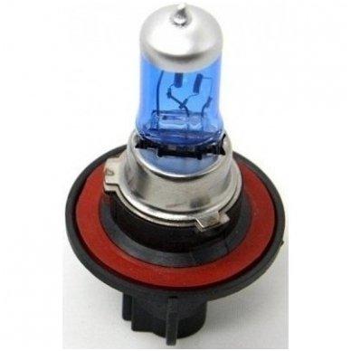 H13 1vnt. 5000K SUPER XENON WHITE 12v 60 /55w trumpųjų, ilgųjų, rūko šviesų halogeninė lemputė 2