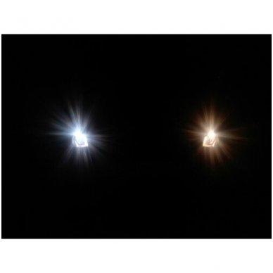 H15 1vnt. 5000K SUPER XENON WHITE 12v 15w/55w halogeninė lemputė 7