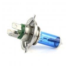 H4 1vnt. 5000K 12v 100w/90w SUPER XENON WHITE halogeninė lemputė
