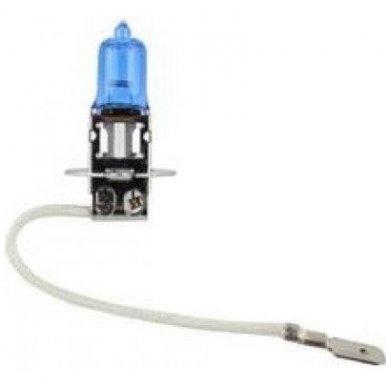 H3 1vnt. 5000K SUPER XENON WHITE 12v 55w trumpųjų, ilgųjų, rūko šviesų halogeninė lemputė
