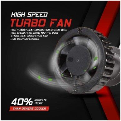 """H3 MINI CAN-BUS """"Philips ZES"""" +300% LED sistema 12V-24V 6500LM 5"""