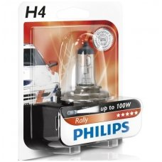 "H4 1vnt. Philips ""RALLY"" Maximum light lemputė, 12569RAC1, 923541217106 halogeninė lemputė"