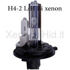 H4-2 L/H, 35W, 6000K xenon lemputė