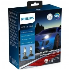 H4 PHILIPS X-treme Ultinon LED gen2 +250% lemputės