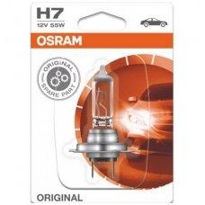 H7 1vnt. OSRAM ORIGINAL LINE 12V 55W, 64210, 4050300332185 halogeninė lemputė