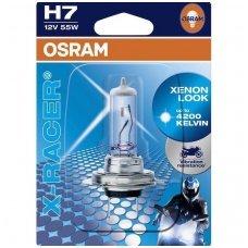 H7 1vnt. OSRAM X- RACER4200K, +20% šviesos 64210XR-01B 4052899253704 halogeninė lemputė