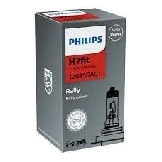 "H7 1vnt. Philips ""RALLY"" Maximum light lemputė, 12035RAC1, 924007117121 halogeninė lemputė"