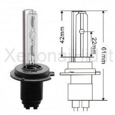 H7, 55W, 4300K xenon lemputė