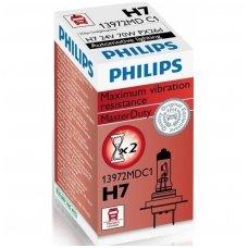 H7 Philips MasterDuty sunkvežimių lemputė 24V 70W 13972MDC1