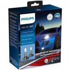 H7 PHILIPS X-treme Ultinon LED gen2 +250% lemputės 11972XUWX2