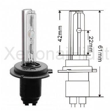H7, 35W, 4300K xenon lemputė