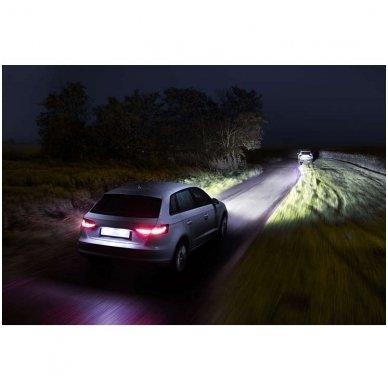 H7 Philips RacingVision +150% 55W lempučių komplektas 12972RVS2 4