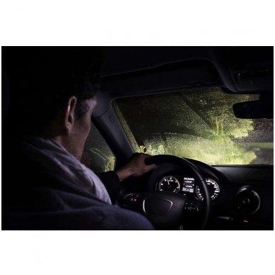 H7 Philips RacingVision +150% 55W lempučių komplektas 12972RVS2 5