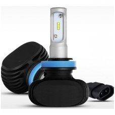 H8 / H9 / H11 SMD LED sistema 12-24V, 25W, 3000LM į priekinius žibintus