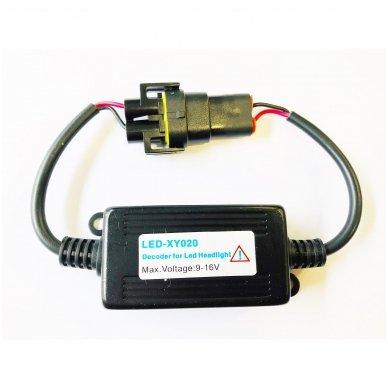 H8 / H9 / H11 CAN-BUS lemputėms skaitmeninis klaidų naikintojas 55w 3