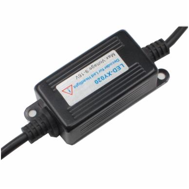 H8 / H9 / H11 CAN-BUS lemputėms skaitmeninis klaidų naikintojas 55w