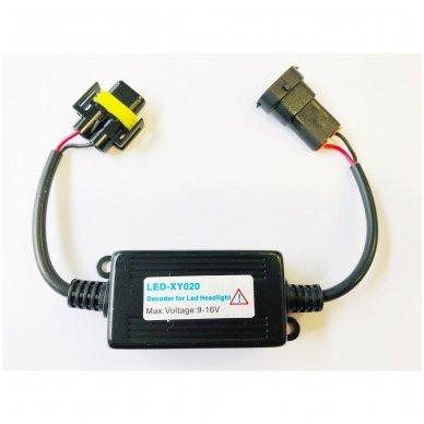 H8 / H9 / H11 CAN-BUS lemputėms skaitmeninis klaidų naikintojas 55w 2