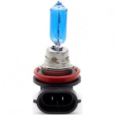H9 1vnt. 5000K SUPER XENON WHITE 12v 55w trumpųjų, ilgųjų, rūko šviesų halogeninė lemputė
