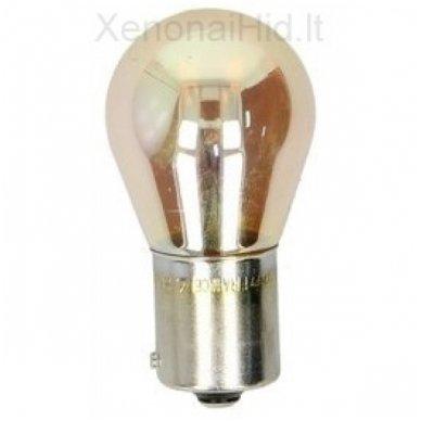 PHILIPS PY21W SilverVision posūkių lemputės 12V 21W 12496SVB2, 8711500311191 4