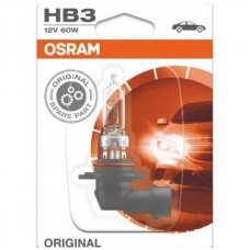 HB3 / 9005 1vnt. OSRAM ORIGINAL LINE 12V 60W, 9005, 4050300137193 halogeninė lemputė