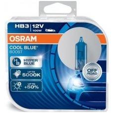 HB3/9005 OSRAM COOL BLUE BOOST, 100W5000K, +50% šviesos, 69005CBB-HCB, 4052899439887