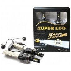 HB4 / 9006 CAN-BUS CREE LED sistema 20W, 3200LM, 12V-24V į žibintus