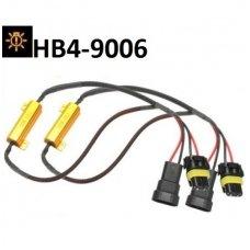 """HB4-9006 Led lemputės CAN-BUS """"Error free"""" sistema, klaidų anuliuotojas"""