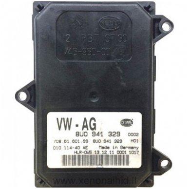 HELLA AFS AHL VW AG žibinto valdymo blokas 8U0941329 / 8U0 941 329 2
