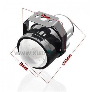 Hybrid F1 Bi-Halogen H11 universalūs rūko žibintai 9