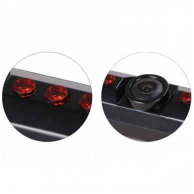 IR LED vaizdo kamera - automobilio valstybinio numerio rėmelis 31x16 2