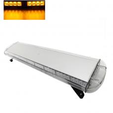 Įspėjamasis galingas LED oranžinis švyturėlis 12V-24V 119 cm