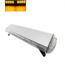 Įspėjamasis galingas LED oranžinis švyturėlis 12V-24V 97 cm