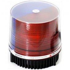 Įspėjamasis LED raudonas - mėlynas švyturėlis su magnetiniu padu