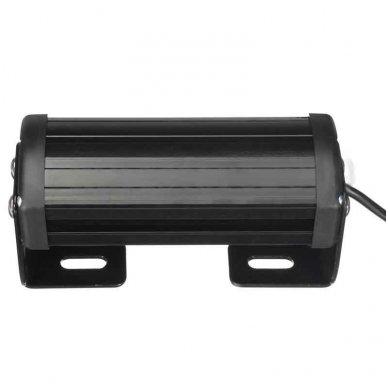 Įspėjamieji 2 LED žibintai lęšiniai švyturėliai geltoni 12-24V 6