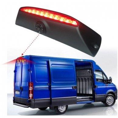 IVECO Daily 2011-2014 galinio vaizdo kamera integruota stabdžio žibinte 2