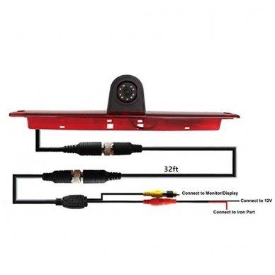 IVECO Daily 2011-2014 galinio vaizdo kamera integruota stabdžio žibinte 11