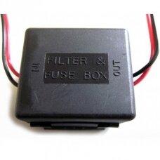 Kameros monitoriaus filtras - srovės keitiklis