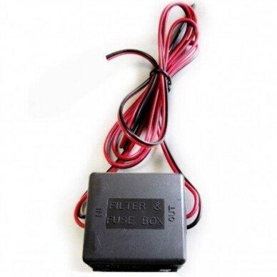 Kameros monitoriaus filtras - srovės keitiklis 2