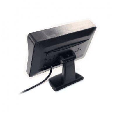 LCD 4.3 colių auto monitorius parkavimo sistemoms ir DVD 12V 5