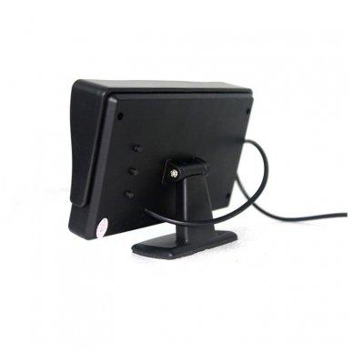 LCD 4.3 colių auto monitorius parkavimo sistemoms ir DVD 12V 7