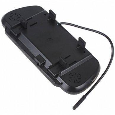 LCD 7.0 colių auto monitorius galinio matymo veidrodėlyje parkavimo sistemoms ir DVD 12V-24V 6