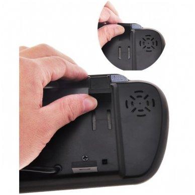 LCD 7.0 colių MP5 Bluetooth USB SD auto monitorius galinio matymo veidrodėlyje parkavimo sistemoms ir DVD 12V-24V 4